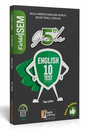 Farklı İsem 5. Sınıf İngilizce 10 Deneme İsem Yayıncılık