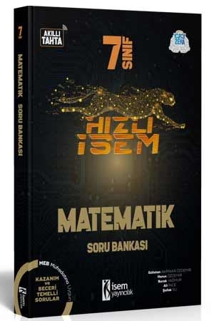 Hızlı İsem 7. Sınıf Matematik Soru Bankası İsem Yayıncılık