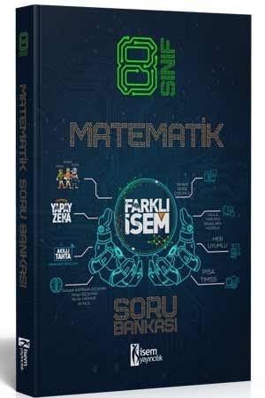 8. Sınıf Farklı İsem Matematik Soru Bankası İsem Yayıncılık