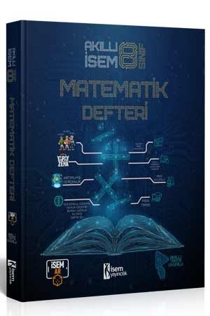 8. Sınıf Akıllı İsem Matematik Defteri İsem Yayıncılık